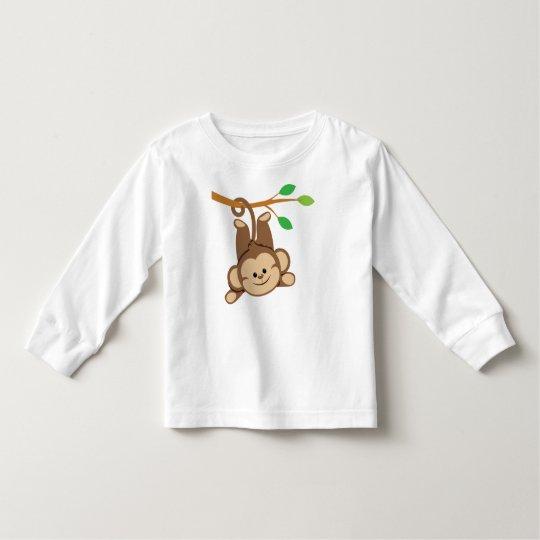 Boy Swinging Monkey Toddler T-shirt