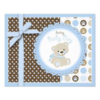 Boy Teddy Bear Advice Card Full Color Flyer