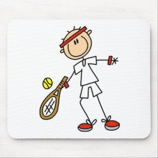 Boy Tennis Player Mousepad