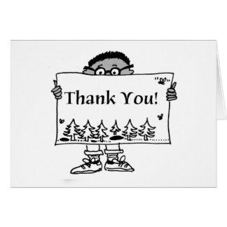 Boy Thank You Card