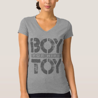 BOY TOY For Hire - Available For Sugar Daddy, Gray T-Shirt
