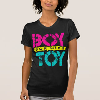 BOY TOY For Hire - Available For Sugar Daddy, Neon T-Shirt