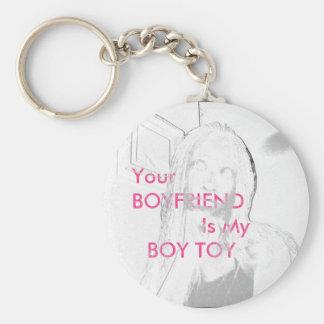 Boy Toy Keychain