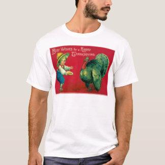 Boy & Turkey T-Shirt