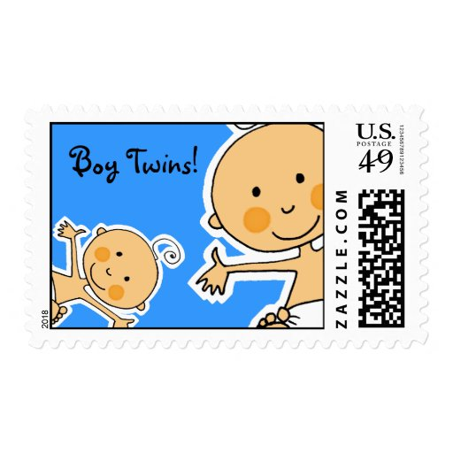Boy Twins! Stamps