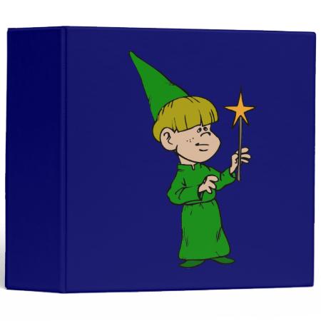 Boy Witch Vinyl Binders