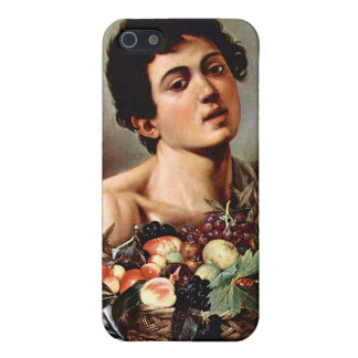 Boy with a Basket of Fruit, Caravaggio Cases For iPhone 5