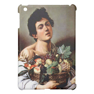 Boy with a Basket of Fruit, Caravaggio iPad Mini Cover