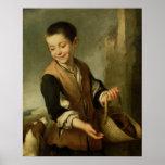 Boy with a Dog, c.1650 Print