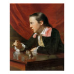 Boy with a Squirrel, by John Singleton Copley Posters