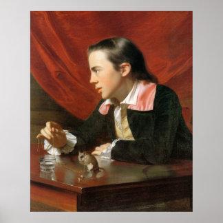 Boy with a Squirrel, by John Singleton Copley Poster