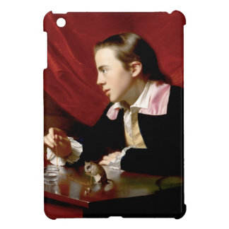 Boy with a Squirrel iPad Mini Covers