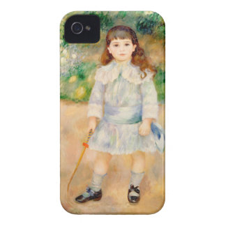 Boy with a Whip, Auguste Renoir iPhone 4 Case