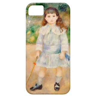 Boy with a Whip, Auguste Renoir iPhone SE/5/5s Case