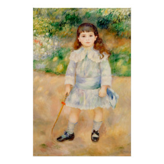 Boy with a Whip, Auguste Renoir Posters