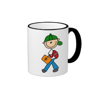 Boy With Backpack Mug
