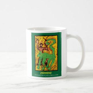 """""""Boy with Dog"""" by Zermeno Coffee Mug"""