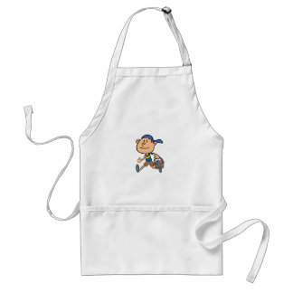 Boy With Easter Basket Apron
