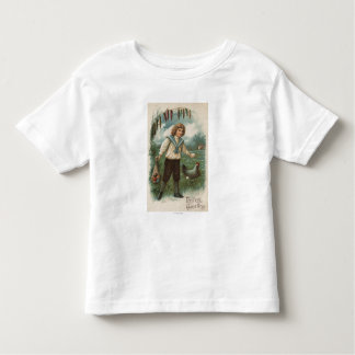 Boy with Easter Egg Basket Holding Egg Toddler T-shirt