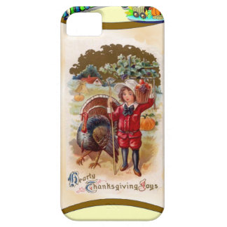 Boy with the turkey iPhone SE/5/5s case