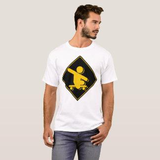 Boy without legs skateboard crossing T-Shirt