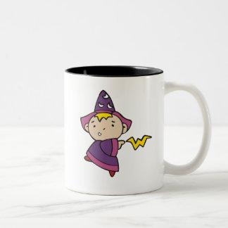 Boy Wizard Two-Tone Coffee Mug
