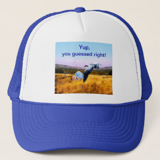 boy you guesses right trucker hat