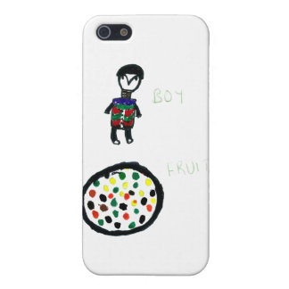BoyAndFruit iPhone 5/5S Covers