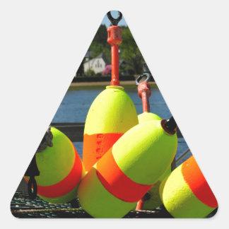 Boyas de Maine Pegatina Triangular