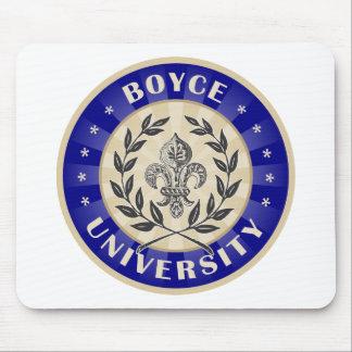 Boyce University Navy Mouse Pad