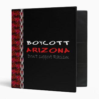 Boycott Arizona 3 Ring Binder