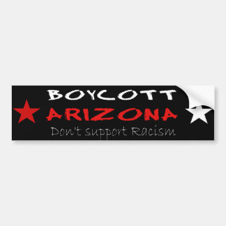 Boycott Arizona Bumper Sticker