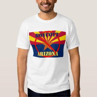 Boycott Arizona - I Vote t Shirt