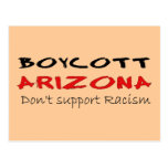 Boycott Arizona Post Card