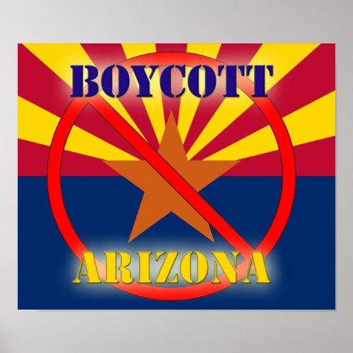 Boycott Arizona Poster