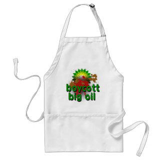 Boycott Big Oil to End Offshore Drilling Tshirts Adult Apron