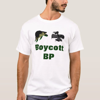 Boycott BP - beach polluters T-Shirt