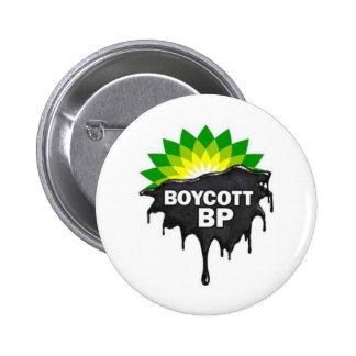 Boycott BP British Petroleum Gulf Oil Spill Button