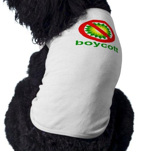 Boycott BP Dog Tee