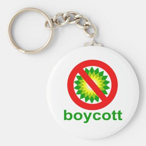 Boycott BP Key Chain
