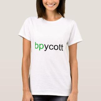 Boycott BP Ladies T-Shirt