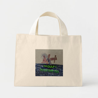 boycott bp mini tote bag