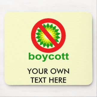 Boycott BP Mousepad