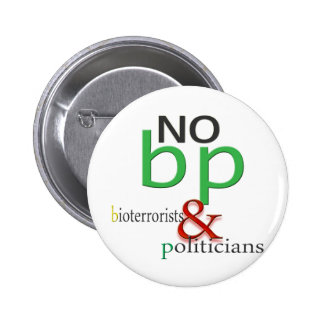 Boycott BP oil spill Pinback Button