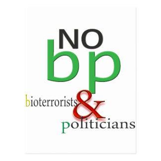 Boycott BP oil spill Postcard