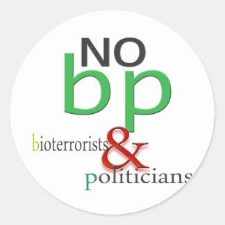 Boycott BP oil spill Stickers