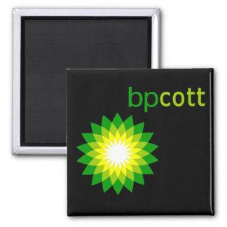 Boycott BP Oil T shirts, Tote Bags, Mugs 2 Inch Square Magnet