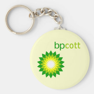 Boycott BP Oil T shirts, Tote Bags, Mugs Basic Round Button Keychain