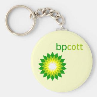 Boycott BP Oil T shirts, Tote Bags, Mugs Basic Round Button Keychain