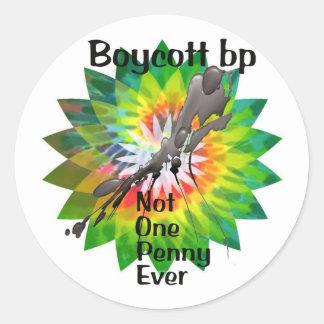 Boycott bp sticker tie dye nope